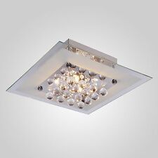 Crystal E26 Lamp Ceiling Hallway Living Room Light Fixture Chandelier