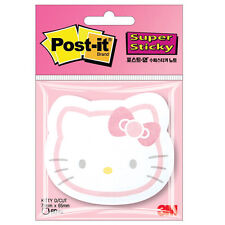 Hello Kitty 3M Post-it Super sticky note Pad Memo SSN-KT D/CUT HD