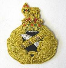 WW2 British Generals Cap Hat Badge Army WWII Kings Crown New Condition Bullion