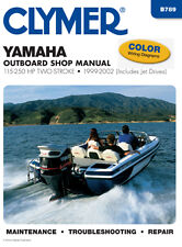 Clymer Yamaha Outboard Shop/Repair Manual, 115-250 HP 2-stroke 1999-2002 (B789)