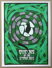 QUEENS OF THE STONE AGE poster ltd edition screenprint New Zealand 08 hynes