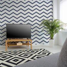 Rasch chevron Zig Zag Wallpaper by Coloroll - Black/White 888225