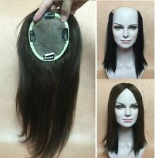 """5""""X6.7"""" SILK TOP unprocessed human hair topper top piece for women 16"""" in length"""