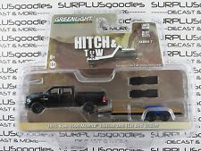 GREENLIGHT 1:64 S7 Hitch & Tow 2015 DODGE RAM 1500 MOPAR w/Flat Bed Trailer