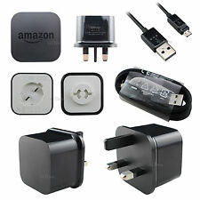 Genuine Amazon PowerFast Rapid USB Wall Charger Kindle Fire HD,Kindle Paperwhite