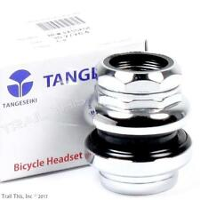 "Tange Seiki Passage 1"" 1-inch Threaded 26.4mm Chrome Traditional Bicycle Headset"