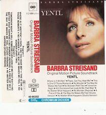 K 7 AUDIO (TAPE)  B.O.F (O.S.T) BARBRA STREISAND *YENTL*