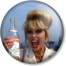 "Ab Fab Patsy Stone 25mm 1"" Absolutely Fabulous Joanna Lumley Comedy TV Novelty"