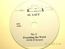 Al Lacy, No. 2,  OVER 45 AUDIO SERMONS, MP3 one CD