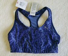 Puma Essential Graphic Dry Cell Blue Sports Bra Size 10 NWT