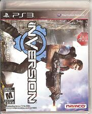 NEW/SEALED INVERSION PS3 VIDEO GAME PLAYSTATION 3