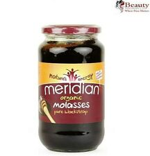 1 x Meridian ORGANIC Pure Blackstrap Molasses 740g *UNSULPHURED*