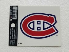 "Montreal Canadiens 3"" x 4"" Small Static Cling - Truck Car Window Decal NEW NHL"