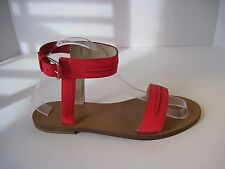J Crew Hot Pink Leather Ankle Strap Sandals Size 8 1/2 Retail $198 Sold Out! NEW