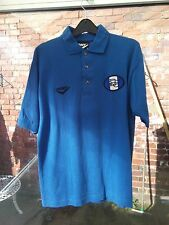 Nuevo Sin Uso Birmingham City Football Club Pony Azul Camisa Polo Talla S