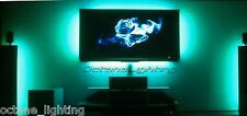 RGB LED LCD Pc Ambient Color Illuminate Tv Television Backlit Backlight Lighting