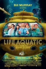 "LIFE AQUATIC WITH STEVE ZISSOU Poster [Licensed-NEW-USA] 27x40"" Theater Size"