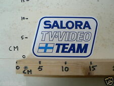 STICKER,DECAL SALORA TV VIDEO TEAM