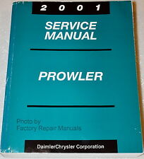 2001 Chrysler Plymouth Prowler Factory Service Manual - Original Shop Repair