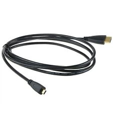 Micro HDMI to HDMI Male/Male Cable Cord fits Android Devices Tablets 6ft Black