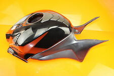 07-12 HONDA CBR600RR 600RR BLACK GAS TANK FUEL CELL COVER FAIRING COWL