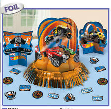 Hot Wheels WILD RACER Table Decoration Kit Boys Birthday Party Supplies ~ LATEST
