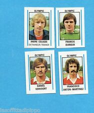 BELGIO-FOOTBALL 80-PANINI-Figurina n.415- COLASSE+DURIEUX+VERVOORT..-OLYMPIC-Rec