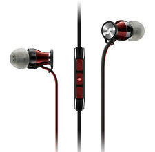 SENNHEISER MOMENTUM i IN CANAL EARPHONES+iPHONE/POD/PAD+MIC+MULTIFUNCTION REMOT