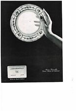 PUBLICITE  1966    BERNARDAUD  art de la table service ROSE DE LIMOGES