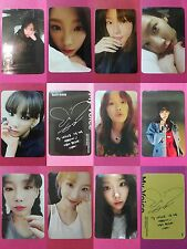 LOT of 10 TAEYEON MY VOICE Official PHOTOCARD 1st Album Girl's Generation SNSD