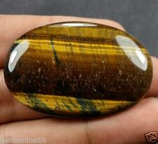 68.30 CT TIGER'S EYE 100% NATURAL OVAL shaped FABULOUS Quality Gemstone 301