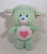 "2004 Gentle Heart Lamb 9"" Plush Beanie Baby Action Figure Care Bears Cousin"