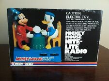 Vintage Mickey Mouse nite lite radio model # 404  New Contents Still Sealed !