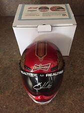 Kevin Harvick AUTOGRAPHED SIGNED Mini Helmet Budweiser Bud Stewart Haas