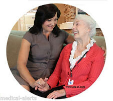 Senior Medical Alert System - NO Monthly Charges Ever - Talk Through The Pendant