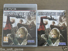 JEU PLAYSTATION 3  PS3   RESONANCE OF FATE   COMPLET EN FRANCAIS