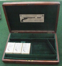 ANTIQUE CASE FOR A COLT SAA REVOLVER PISTOL GUN (7.5 Barrel).