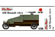 1/35 scale WW1 Renault AM model 1914 kit en resine tres detalie, beucoup pieces