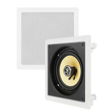 VM Audio Elux 6.5-Inch 200 Watt 2-Way In-Wall Surround Sound Speaker | VM-W