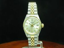 Rolex Lady date 18kt 750 Gold/acero inoxidable Automatic fantastico/ref 6517