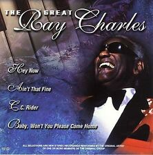 1 Cent CD - The Great Ray Charles [Platinum Disc] by Ray Charles - NEW