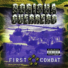 First Combat by Boricua Guerrero 2 CD's Brand new sealed