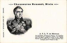 CPA ed. Chaussures Rousset, BLOIS. A.F.L.V. de MARMONT. Militaire (286994)