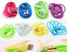 DZ468 For iPhone 6 6p 7 7p iPod 8 Pin Candy Multi-color USB Data Chargers Cable