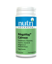 MegaMag Calmeze Chamomile - 252g Powder by Nutri Advanced - Magnesium Supplement
