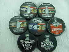 2015 NHL Chicago Blackhawks Stanley Cup Playoffs Hockey Seven (7) Puck Pack