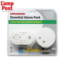 Kidde Home Safety Twin Pack Carbon Monoxide Alarm & Smoke Detector Kit