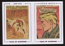 2015 Marvel Avengers Silver Age Dual Archive Cuts TS69 Tales Of Suspense /41