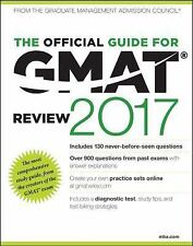 The Official Guide for GMAT Review 2017 with Online Question Bank