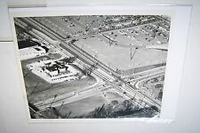 #1707 PHOTO - WAUWATOSA WI SHOPPING MALL - MAYFAIR - 1959  AERIAL VIEW